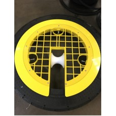 Manhole Safety Cover with Plexiglass